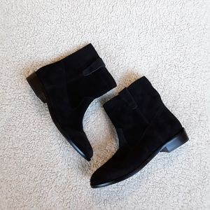 🆕️ Rebecca Minkoff | Black Suede Ankle Boots